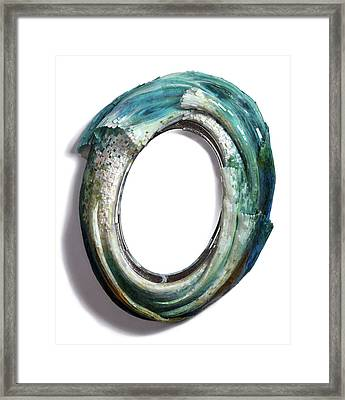 Water Ring I Framed Print