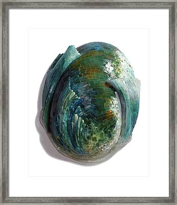 Water Ring II Framed Print
