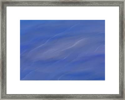 Water Ripples Framed Print by Dan Sproul