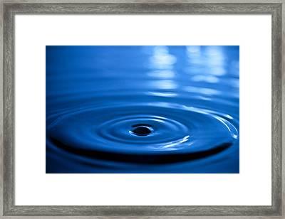 Water Ripples Framed Print