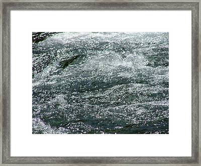 Water Framed Print by Rita Fetisov
