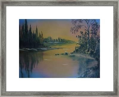 Water Scene 2a Framed Print