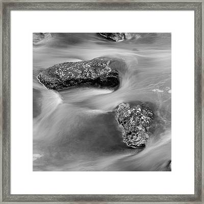 Water Framed Print by Scott Meyer