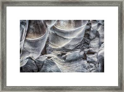 Water Sculpting Rock Art By Kaylyn Franks  Framed Print
