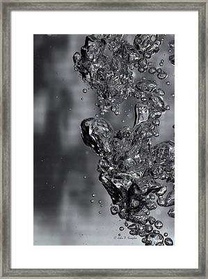 Water Sculpture 003 Framed Print