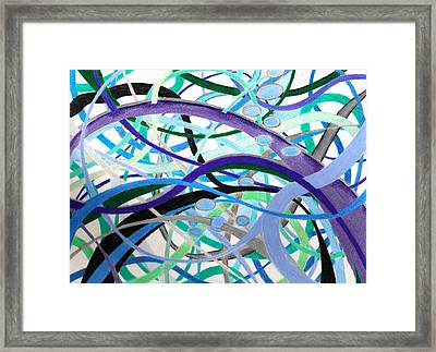 Water Framed Print by Sharon Blanchard