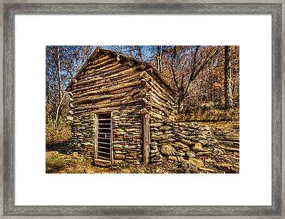 Water Shed Framed Print