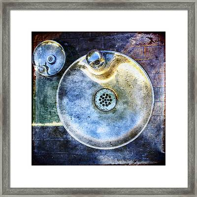 Water Framed Print by Skip Nall