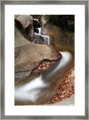 Water Slide Framed Print by Doug Hockman Photography