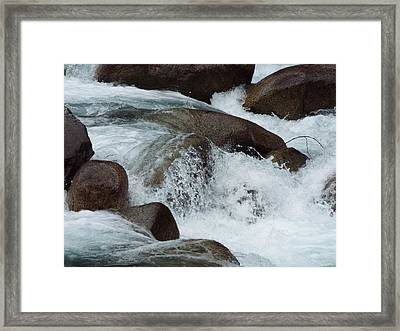 Water Spirits II Framed Print