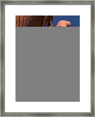 Water Spout Framed Print by Jeffery Ball