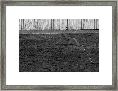 Water Sprinkler Minimalism Framed Print