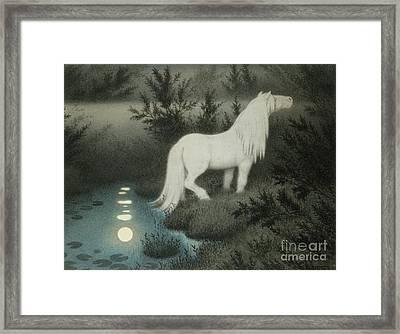 Water Sprite Framed Print
