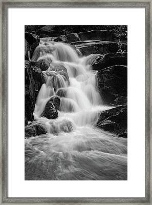 water stair close to the Heinrich Heine hiking way, Harz Framed Print