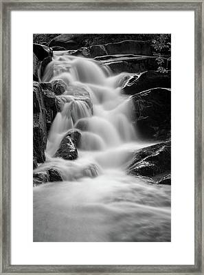 water stair in Ilsetal, Harz Framed Print