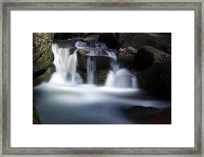 Water Stair - Long Exposure Version Framed Print