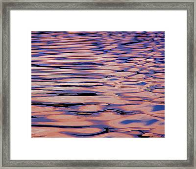 Water Study 4 Framed Print