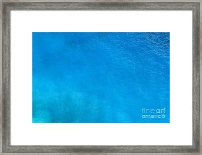 water surface IMAGE LICENSING Framed Print
