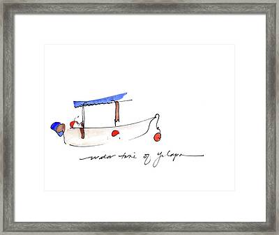 Water Taxi Of Yelapa Framed Print