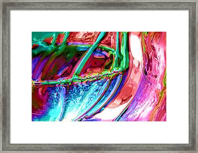 Water To Wine 2 Framed Print