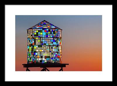Stained Glass Framed Prints