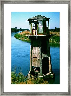 Water Treatment Framed Print by Peter Piatt