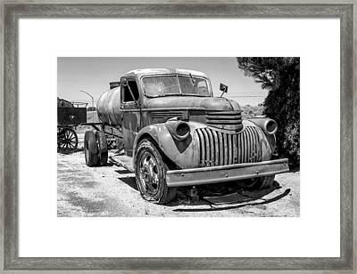 Water Truck - Chevrolet Framed Print
