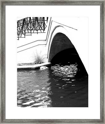Water Under The Bridge Framed Print by Dan Sproul