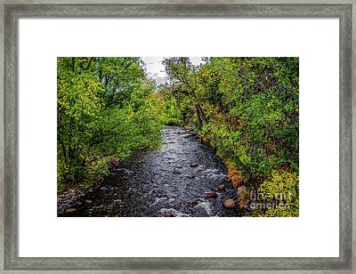 Water Under The Bridge Framed Print by Jon Burch Photography