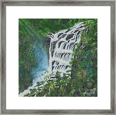 Water Framed Print by Usha Rai