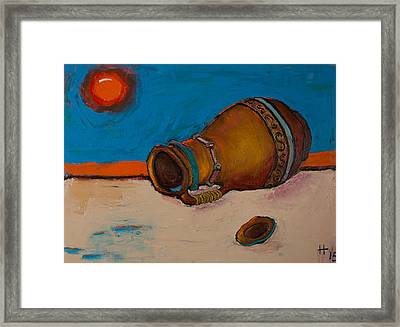 Water Vessel Framed Print