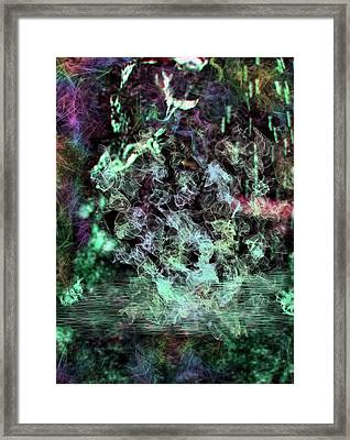 Water Visions Framed Print