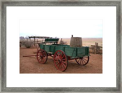 Water Wagon Framed Print by Fred Wilson