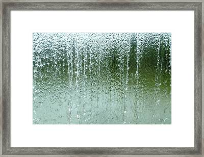 Water Wall  Framed Print by Martina Fagan