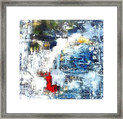 Water Water Everywhere Framed Print by Jane Robinson
