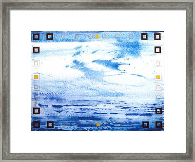 Water Way Framed Print by Tom Hefko