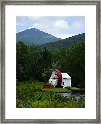 Water Wheel  Framed Print by John Prestipino