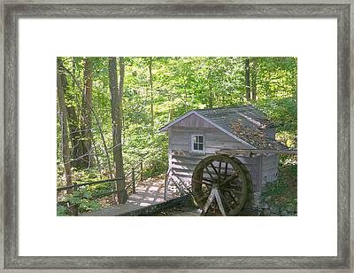 Water Wheel Framed Print by Robert Babler
