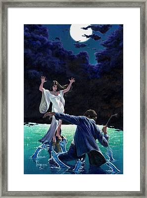 Water Witch Framed Print by Richard Hescox