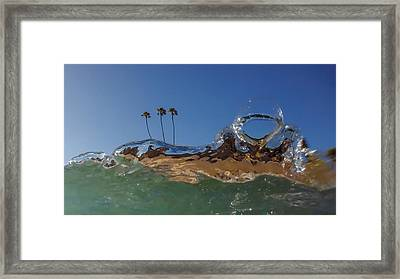 Framed Print featuring the photograph Water Works by Sean Foster