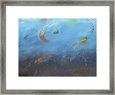 Water World Framed Print by Anusha Garg