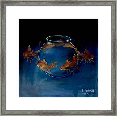 Water World  Framed Print by Gull G