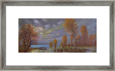 Water World Of Light Framed Print by Jozsef Horvath