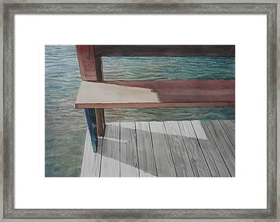 Water3 Framed Print by Jeffrey Babine
