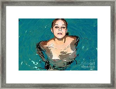Waterbabies Framed Print by Tbone Oliver