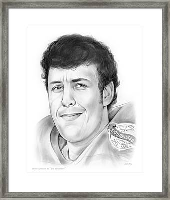 Waterboy Framed Print