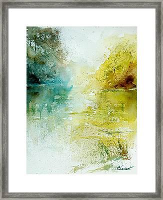 Watercolor 24465 Framed Print by Pol Ledent