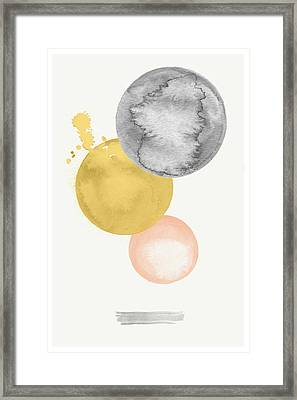 Watercolor Abstract #4 Framed Print by Nordic Print Studio