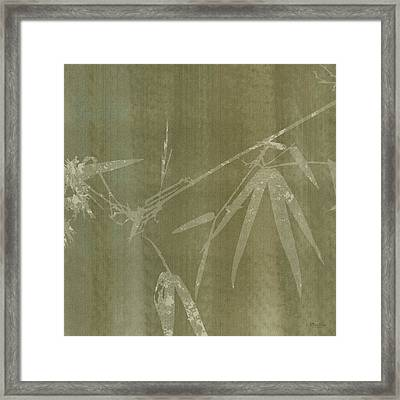Watercolor Bamboo 01 Framed Print