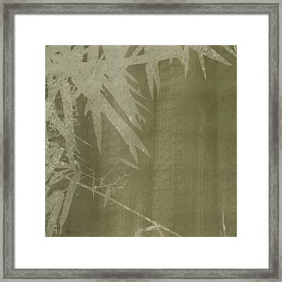 Watercolor Bamboo 02 Framed Print